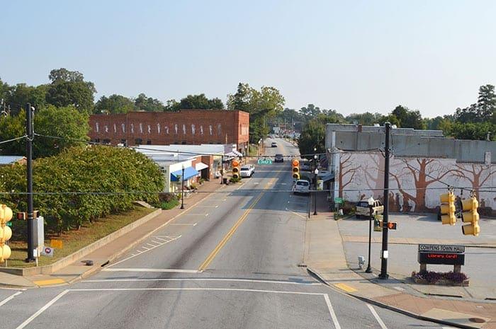 Town of Cowpens SC   downtown cowpens