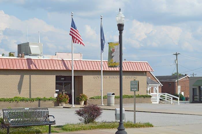 Town of Cowpens SC   Cowpens Municipal Building