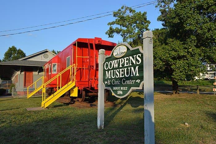Town of Cowpens SC   Cowpens Museum