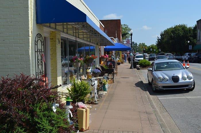 Town of Cowpens SC   Cowpens restaurants