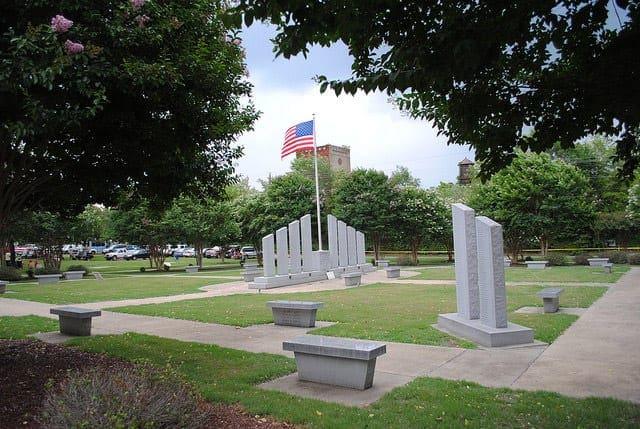 Town of Cowpens SC   Veterans Park
